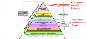 AudioNotch Evidence Hierarchy